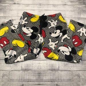 Disney Mickey Mouse Fleece Sleepwear PJ Pants XL